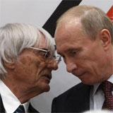 Ecclestone y Putin