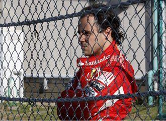 Felipe Massa, en el Gran Premio de Jap�n.