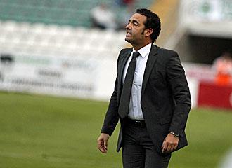 Jos� Bordalas, entrenador del Elche.