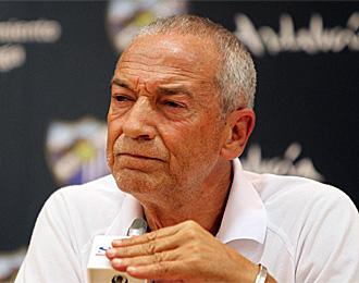 Jesualdo Ferreira, en una rueda de prensa con el M�laga