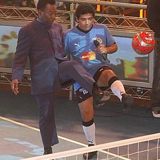 Pel� y Maradona