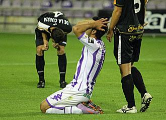El Valladolid ha perdonado en los �ltimos partidos.