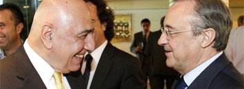 Galliani y Florentino