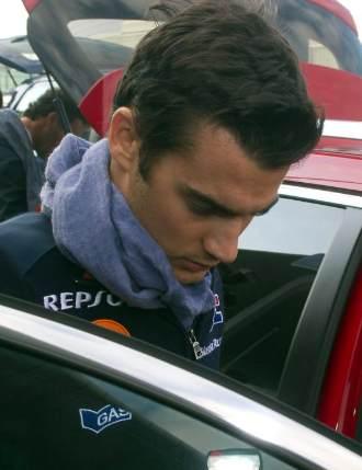 El piloto espa�ol Dani Pedrosa