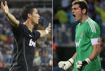 CR7 y Casillas