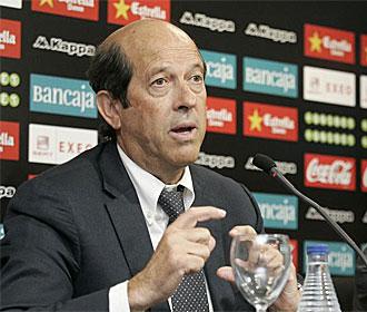 Manuel Llorente, en rueda de prensa.