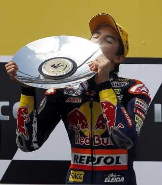 Marc Márquez, ganador en Phillips Island en la categoría de 125cc