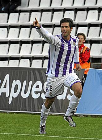 La celebraci�n de C�sar Arzo tras marcar el segundo gol a Las Palmas ha tra�do cierta pol�mica a Valladolid al malinterpretar algunos sus gestos
