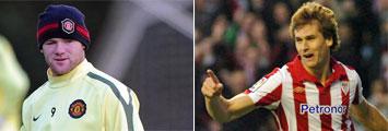 Rooney o Llorente