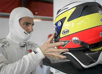 De la Rosa, en su etapa en la F1