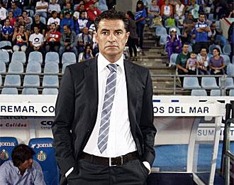 M�chel, entrenador del Getafe