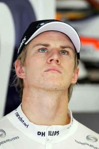 El piloto alem�n de Williams Nico Hulkenberg