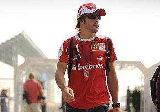 Fernando Alonso muestra su lado m�s �ntimo.