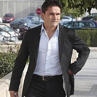 Juan S�nchez, ex jugador del Valencia.