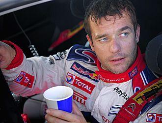 Sebastian Loeb, a la conclusi�n del Rally Catalu�a