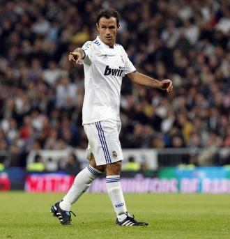 Carvalho, en un partido del Real Madrid