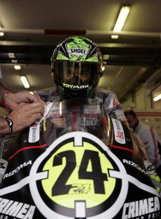 El campeón del mundo de Moto2, Toni Elías