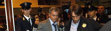 Mourinho a su llegada a Milan