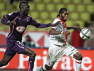 Imagen del partido disputado en el estadio Luis II de M�naco