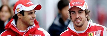 Massa y Alonso