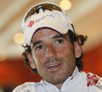 Ezequiel Mosquera en la pasada Vuelta a Espa�a.