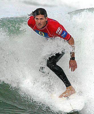 Andy Irons, en una competici�n de surf