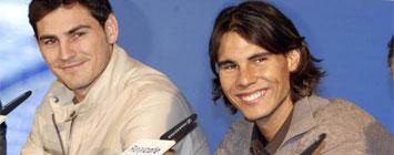 Iker y Nadal