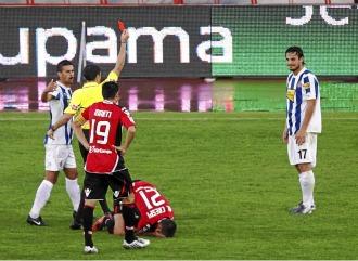 Osvaldo vuelve tras tres partidos de sanci�n por su roja frente al Mallorca.