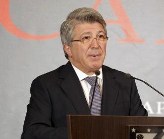Enrique Cerezo, en un acto.