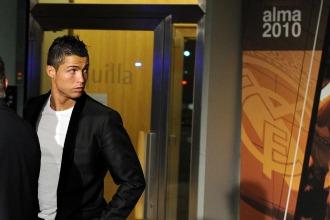 Cristiano Ronaldo, en la gala de la Fundaci�n del Real Madrid