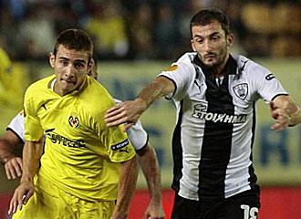 Marco Rub�n en el partido ante el PAOK.