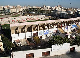 Imagen del Luis Sitjar angiuo estadio del Mallorca.