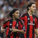 Ronaldinho e Ibrahimovic