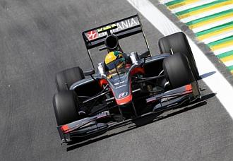 El Hispania de Bruno Senna en Brasil