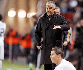 Preciado, en un momento del Sporting-Real Madrid.