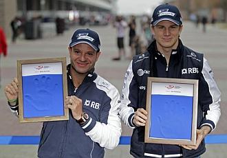 Barrichello y Hulkenberg no ser�n compa�eros en 2011
