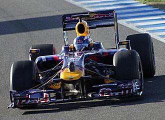 Ricciardo, en el Red Bull.