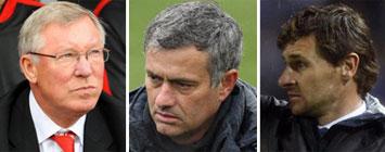 Ferguson, Mourinho y Ben�tez