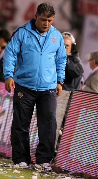 Claudio Borghi, en la banda.