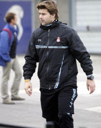 Pochettino, tras un entrenamiento del Espanyol
