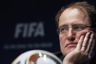 El presidente del Comit� �tico de la FIFA, Claudio Sulser