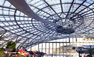 El Hangar 7 de Red Bull en Salzburgo, por dentro