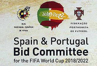 Logo de la candidatura conjunta de Espa�a y Portugal para el Mundial 2018