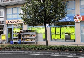 La fachada de la carnicer�a de Ir�n donde se vendi� el solomillo que comi� Alberto Contador.