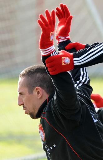 Ribery, jugador del Bayern M�nich.