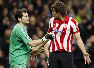 Casillas habla con Llorente