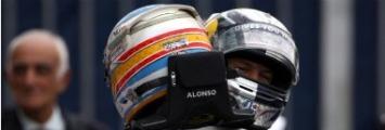 Alonso y Vettel