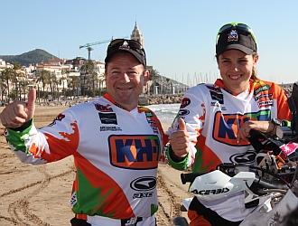Arcarons y Sanz presentaron su equipo