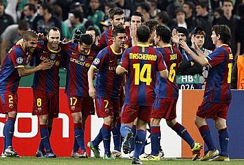 Panathinaikos 0-3 Barcelona