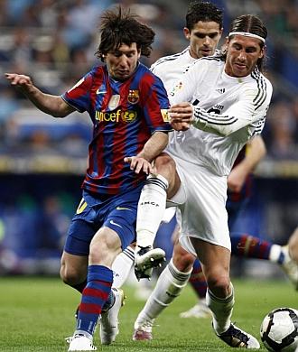 Sergio Ramos ha 'sufrido' muchas veces a Messi.